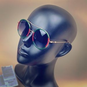 💯 Authentic Gucci GG0061S Round Sunglasses
